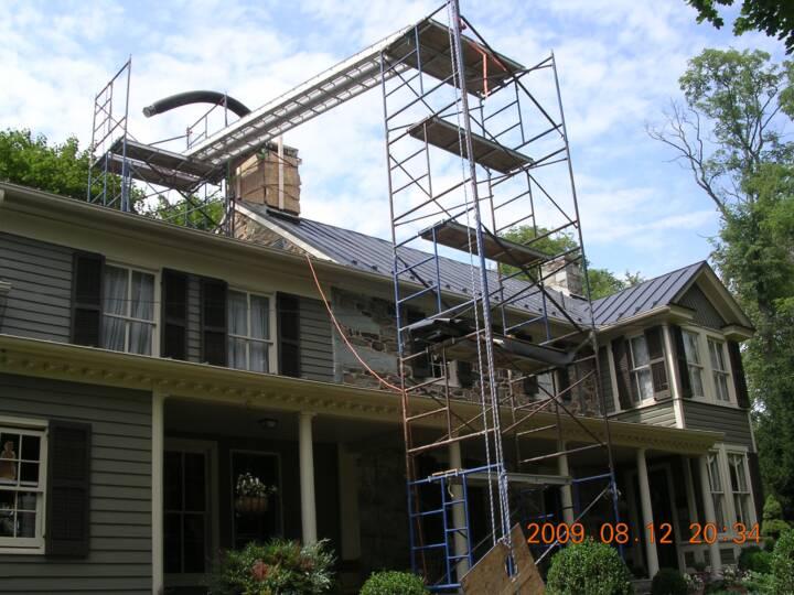 Chimney Restoration Virginia Restoration Services Virginia